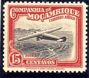Mozambique Company 1935 Inauguration of the Airmail (2nd Issue) c