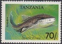 Tanzania 1993 Sharks d