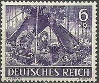 Germany-Third Reich 1943 Armed Forces and Heroes Day c
