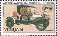 Venda 1986 FIVA World Classic Car Rally a