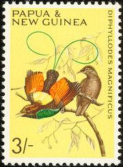 Papua New Guinea 1965 Birds f