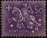 Portugal 1953 Definitives - Medieval Knight q