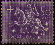 Portugal 1953 Definitives - Medieval Knight q