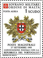 Sovereign Military Order of Malta 1986 Agreements Concluded by The Postal o