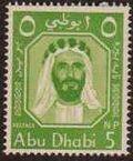 Abu Dhabi 1964 Sheik Zaid bin Sultan al Nahayan a