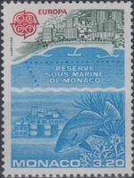 Monaco 1986 EUROPA - Nature Conservation b