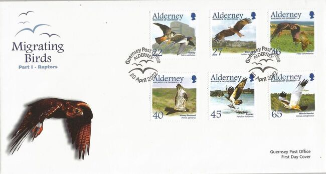 Alderney 2002 Migrating Birds Part 1 Raptors h
