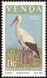 Venda 1984 Migratory Birds a