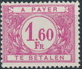 Belgium 1953 Postage Due Stamps (Digit on White Background) a.jpg