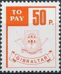 Gibraltar 1984 Postage Due Stamps f