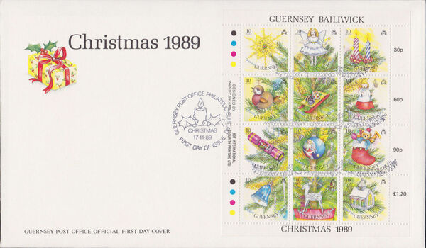 Guernsey 1989 Christmas m