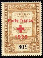 Portugal 1929 Red Cross - 400th Birth Anniversary of Camões c