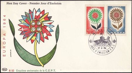 Monaco 1964 Europa h