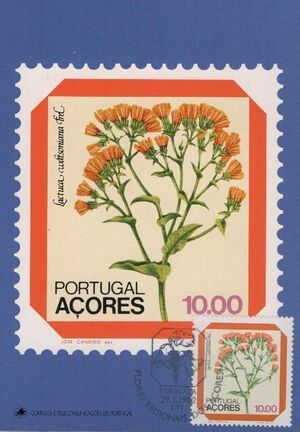 Azores 1982 Azores Flowers (2nd Issue) i