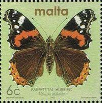 Malta 2002 Butterflies and Moths h