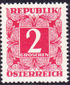 Austria 1949 Postage Due Stamps - Square frame with digit (1st Group) b.jpg