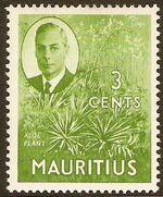 Mauritius 1950 Definitives c