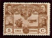 Portugal 1923 First flight Lisbon Brazil e