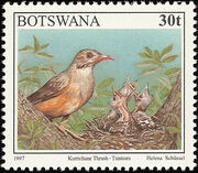 Botswana 1997 Birds e