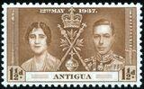 Antigua 1937 George VI Coronation b