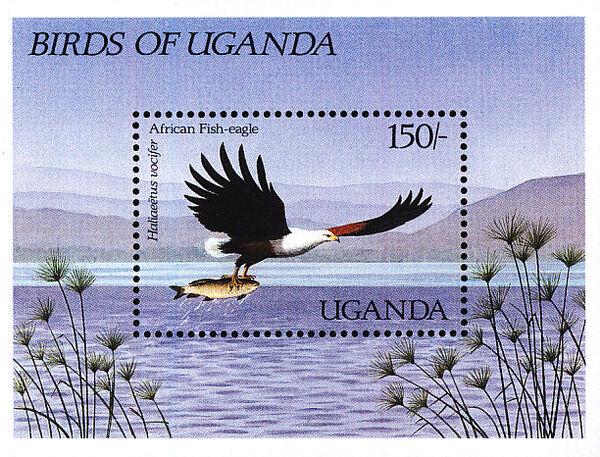 Uganda 1987 Birds of Uganda i