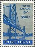 Portugal 1966 Inauguration of Salazar Bridge c