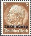 German Occupation-Luxembourg 1940 Stamps of Germany (1933-1936) Overprinted in Black a.jpg