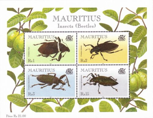 Mauritius 2000 Insects (Beetles) e