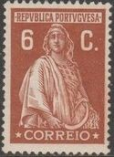 Portugal 1926 Ceres (London Issue) e