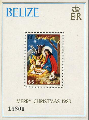 Belize 1980 Christmas k