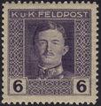 Austria 1917-1918 Emperor Karl I (Military Stamps) e.jpg