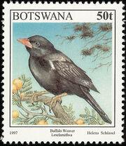 Botswana 1997 Birds h