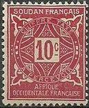 French Sudan 1931 Postage Due b