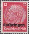 German Occupation-Lothringen 1940 Stamps of Germany (1933-1936) Overprinted in Black g.jpg