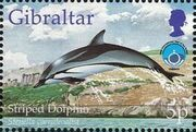 Gibraltar 1998 UNESCO International Year of the Ocean a