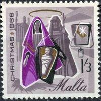 Malta 1966 Christmas c