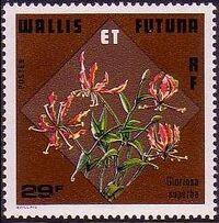 Wallis and Futuna 1978 Flowers c