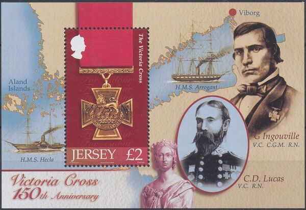 Jersey 2006 150th Anniversary of the Victoria Cross g