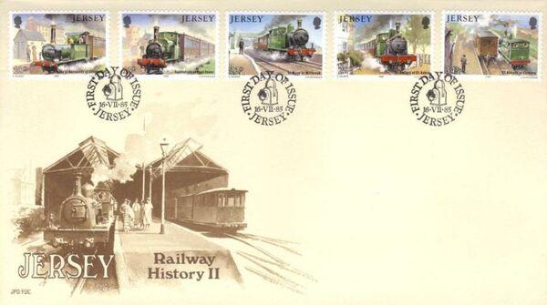 Jersey 1985 Railway History II f