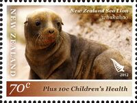 New Zealand 2012 New Zealand Sea Lion a