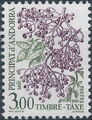 Andorra-French 1985 Flowers (Postage Due Stamps) h.jpg
