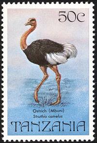 Tanzania 1982 Birds a