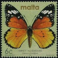 Malta 2002 Butterflies and Moths p