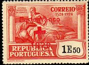 Portugal 1929 Red Cross - 400th Birth Anniversary of Camões d
