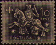 Portugal 1953 Definitives - Medieval Knight b