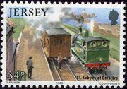Jersey 1985 Railway History II e
