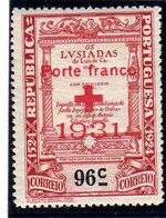 Portugal 1931 Red Cross - 400th Birth Anniversary of Camões d