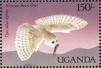 Uganda 1987 Birds of Uganda l