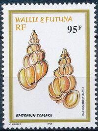 Wallis and Futuna 1999 Shells a