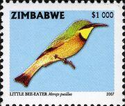 Zimbabwe 2007 Birds from Zimbabwe d
